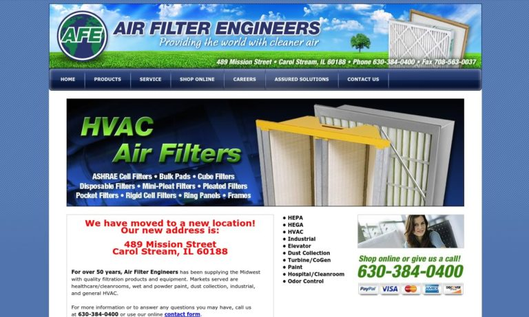 Air Filter Engineers, Inc.