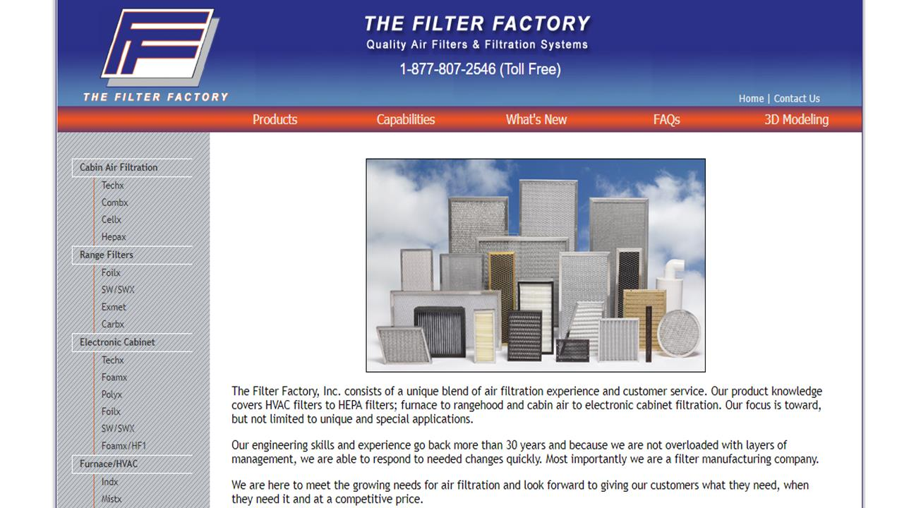 The Filter Factory, Inc.