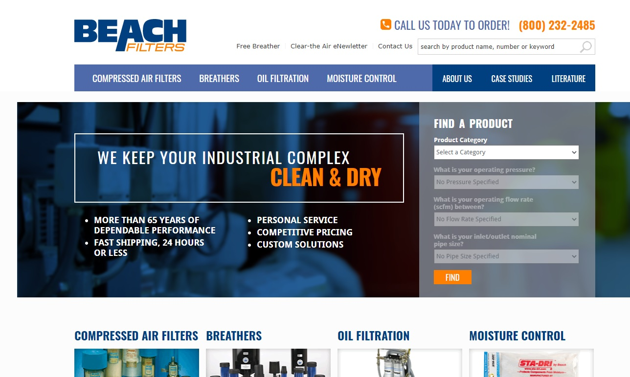 Beach Filter Products, Inc.