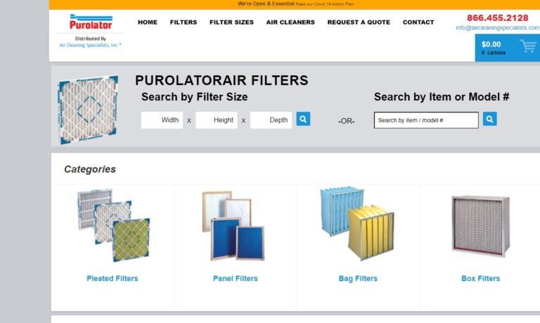 Purolator® Air Filtration