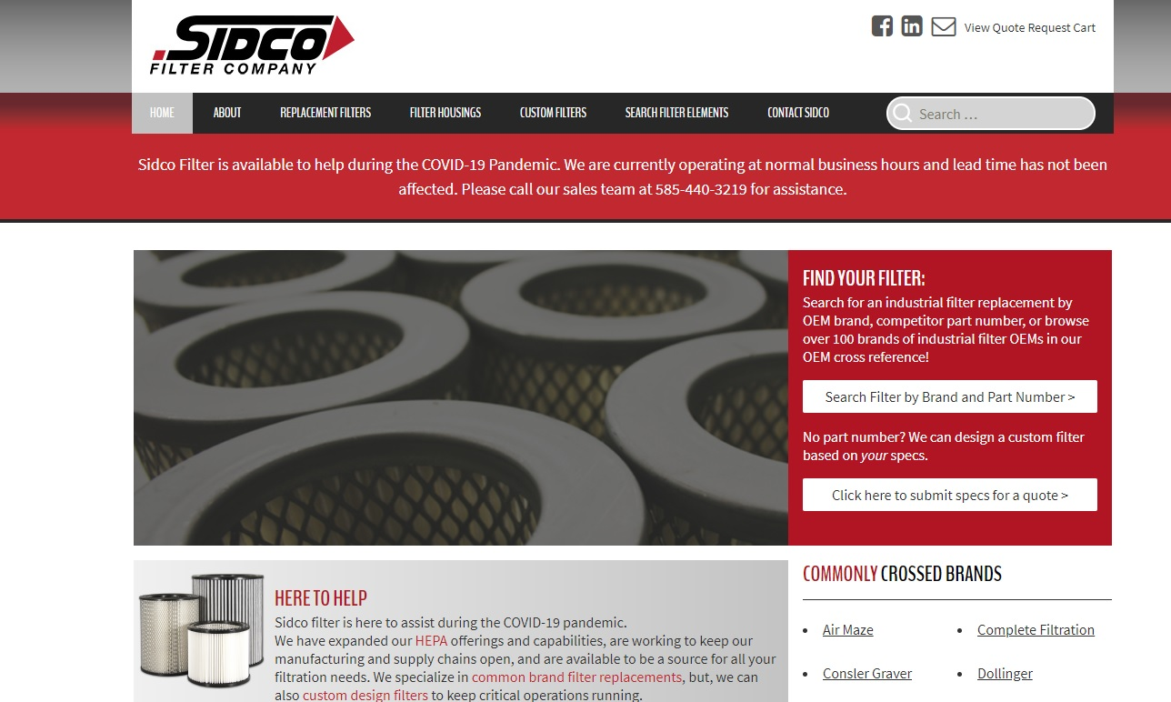 Sidco Filter Corporation